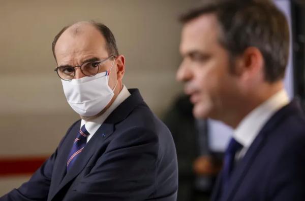 Castex tente de se justifier sur sa stratégie vaccinale, alors que l'épidémie ne cesse de progresser