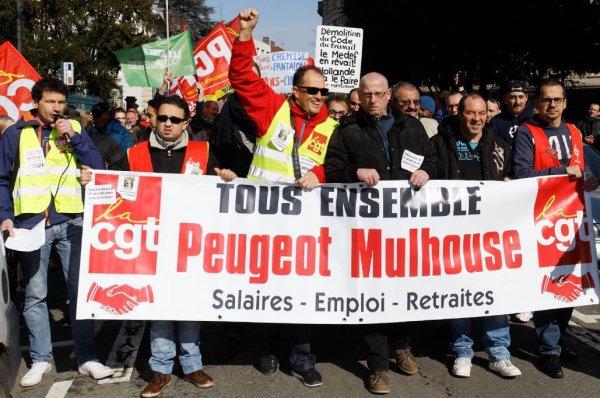 Descente de flics dans le local syndical de la CGT PSA Mulhouse