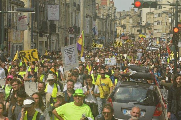 Acte 23 à Bordeaux. Les Gilets Jaunes poursuivent la mobilisation ''pour l'honneur des travailleurs''