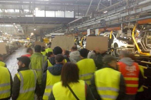 PSA. Grève à Mulhouse et Sochaux des sous-traitants STPI contre les salaires de misère