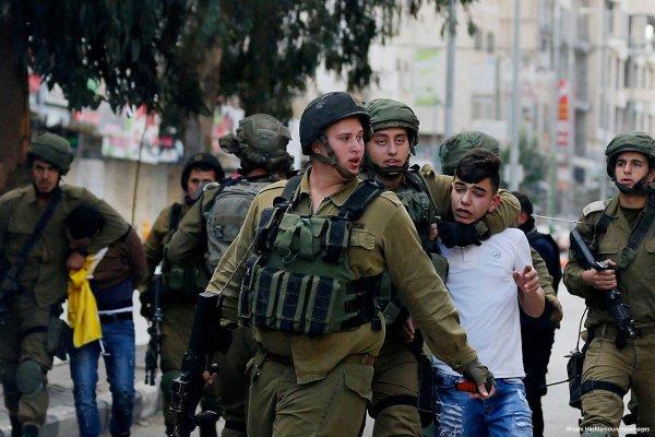95% des Palestinien-ne-s arrêté-e-s en décembre sont des mineur-e-s ou de jeunes adultes
