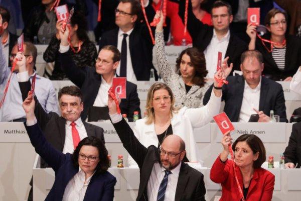 Merkel remise en selle par le SPD ?