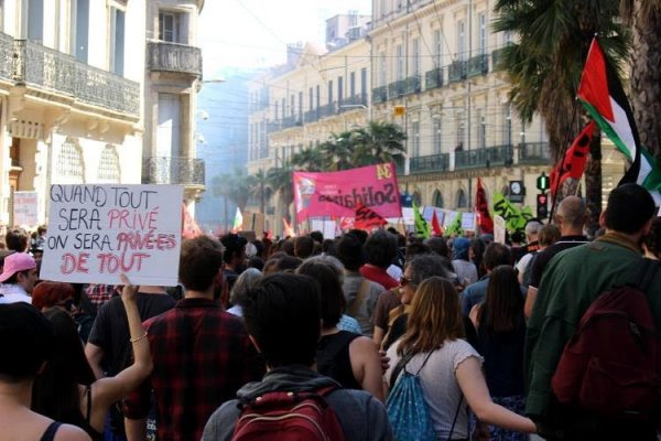 Montpellier. Plus de 2000 personnes dans la rue hier contre les réformes de Macron