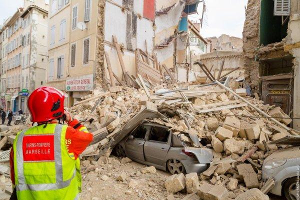 Marseille : au moins quatre morts et cinq disparus dans l'effondrement des immeubles