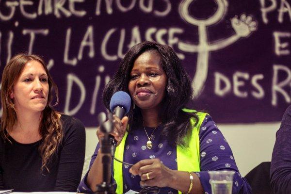 """Fernande, ex-gréviste d'Onet : """"Avant je n'osais pas prendre un micro, et là je suis devant vous"""""""