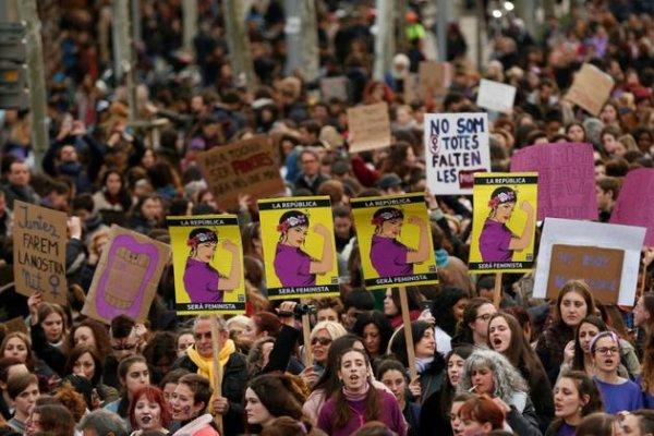 Du Brésil à l'Algérie, un 8 Mars 2019 sous le signe de la lutte sociale
