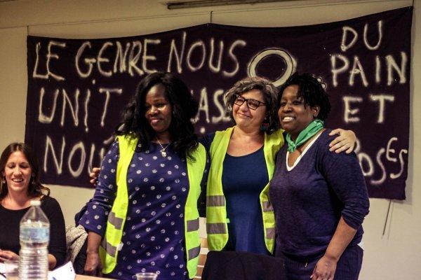 Le 9 mars, un cortège « Du Pain et des Roses » avec les femmes Gilets jaunes