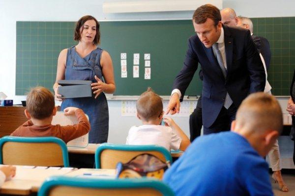 24 élèves par classe : Macron tente de colmater les brèches ouvertes par la mobilisation enseignante
