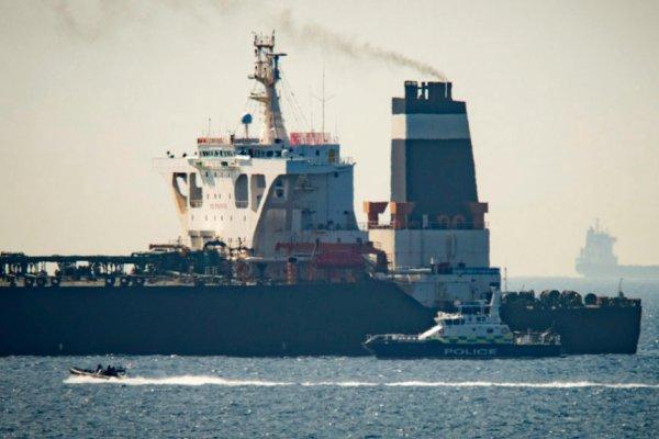 Un pétrolier iranien arraisonné au large de Gibraltar