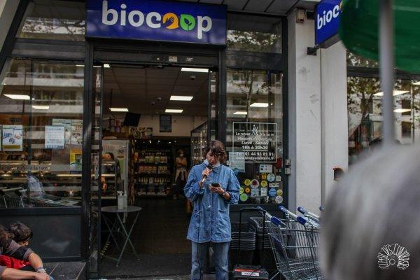 « Pourquoi cette colère dans des magasins qui prétendent défendre une économie solidaire ? » Laetitia, gréviste de Biocoop