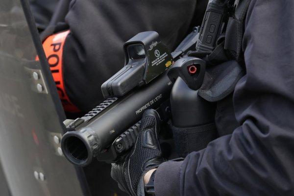 Le gouvernement veut commander 1.100 viseurs de LBD : le père Noël est une ordure