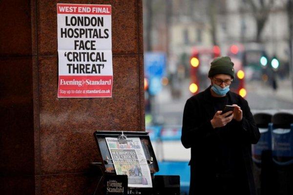 Royaume-Uni. Une variante du virus qui menace de saturer à nouveau les hôpitaux