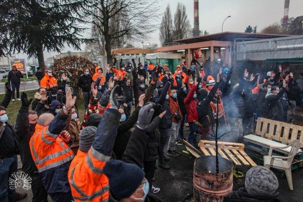 Solidarité : les raffineurs de Grandpuits appellent à un comité de soutien ce vendredi à 18h !