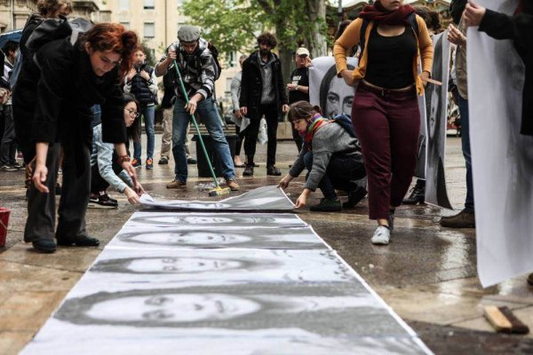 1 mois de lutte à l'Ecole supérieure d'art d'Avignon