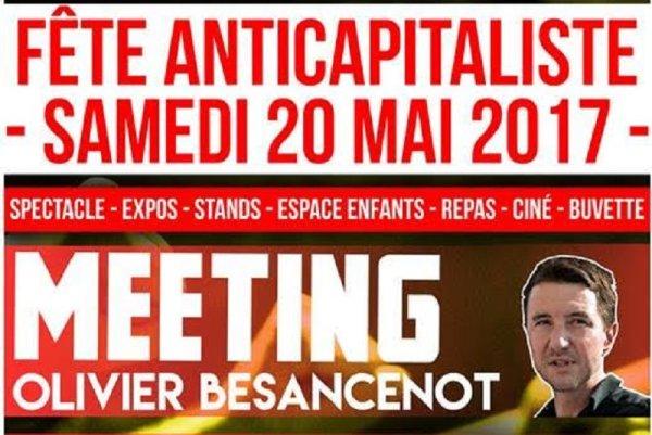 Toulouse. Samedi 20 mai, Fête anticapitaliste du NPA31