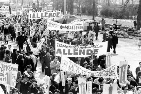 Chili. Unité Populaire, « cordons industriels » et coup d'État