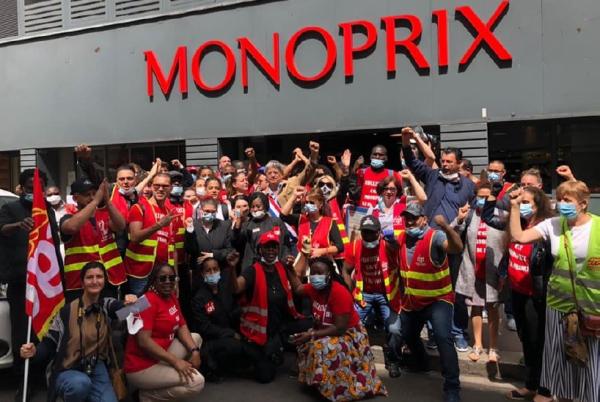 Répression syndicale. 18 élus CGT Monoprix assignés en justice pour s'être mobilisés pour la prime Covid