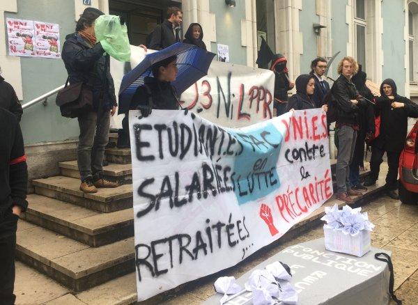 Chambéry. Etudiant·e·s et enseignant·e·s en colère contre la LPPR !