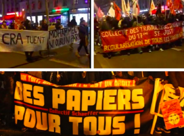 Marche des solidarités : « Égaux, égales, personne n'est illégal »