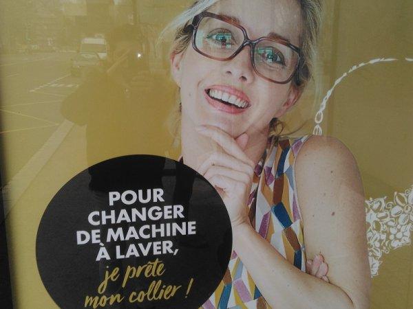 Publicité sexiste : « Pour changer de machine à laver, je prête mon collier ! »