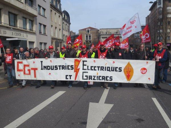 Les salariés de l'énergie partent pour 3 mois de grève à partir du 3 avril