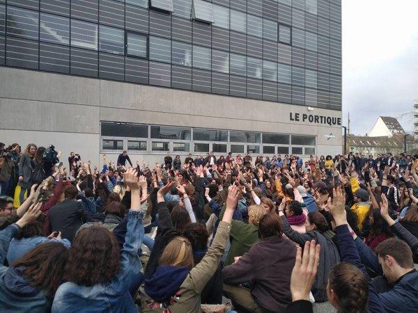 Université de Strasbourg : après les flics et les fachos, la présidence utilise le vote électronique et parle « démocratie »