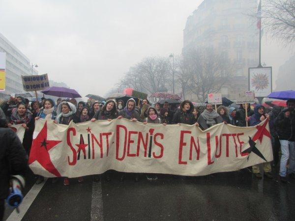 Casse des services publics : un Vendredi Solidaire des Gilets Jaunes à Saint-Denis