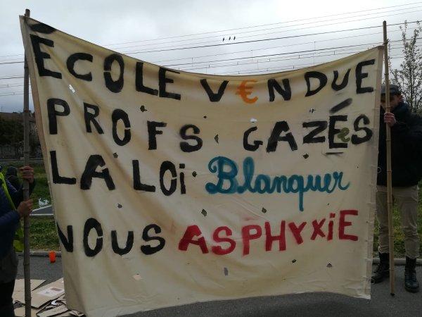 """Toulouse : Dans l'éducation, une journée de """"grève, blocage, manif' sauvage"""" !"""