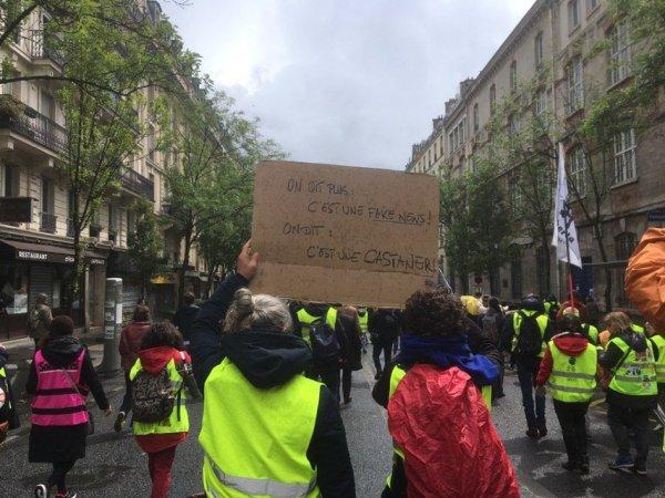 VIDEO. Partout, les Gilets Jaunes scandent « Castaner menteur ! Castaner démission ! »