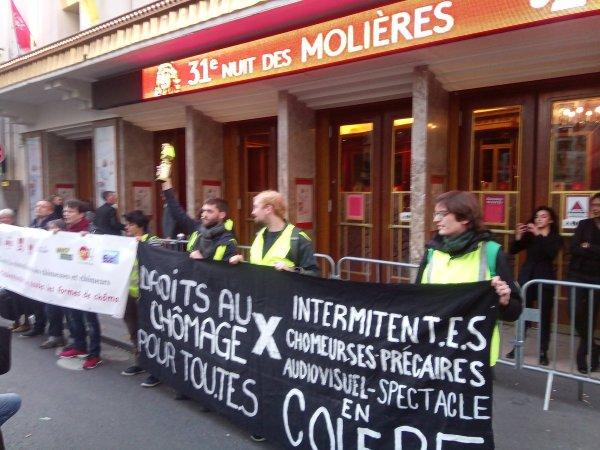 Vidéo. France 2 censure les images des Gilets jaunes envahissant la cérémonie des Molières