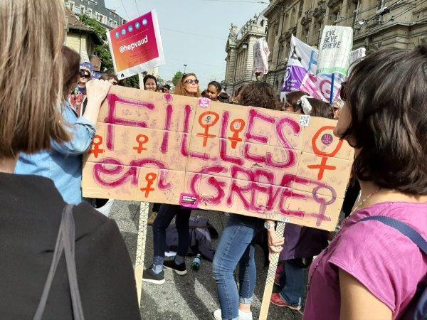 Grève féministe anticapitaliste en Suisse !