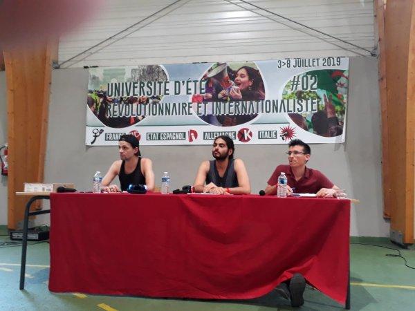 Université d'été RP. Deliveroo, Telepizza, étudiants salarié, les précaires en lutte dans toute l'Europe