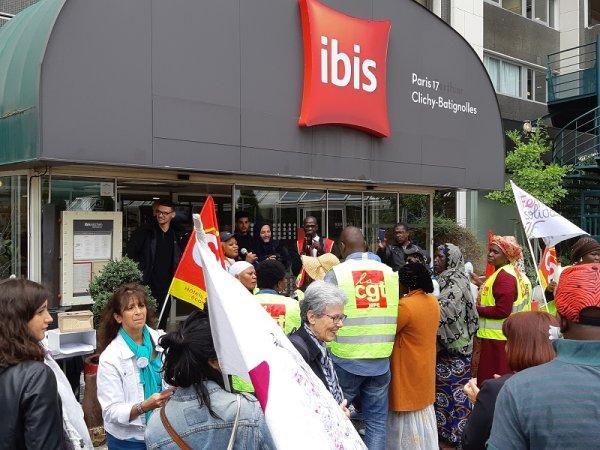 Communiqué du NPA. Soutien aux grévistes de l'Ibis des Batignolles