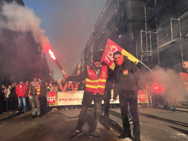 Cortège très dense à Marseille : 150.000 personnes selon la CGT