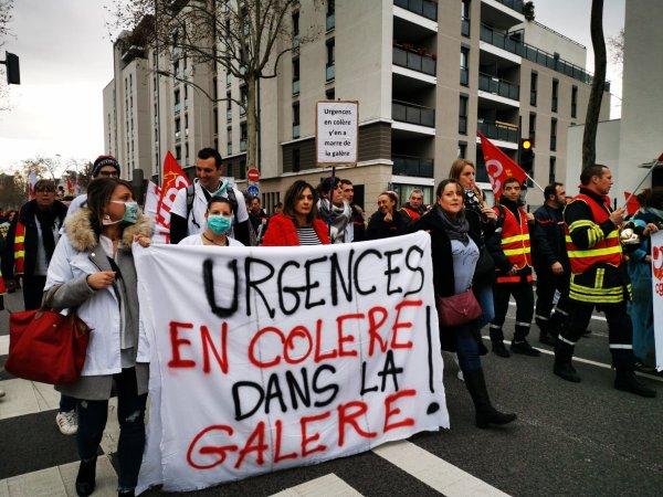 17 décembre. Les professionnels de santé mobilisés, des convergences avec le reste des manifestations