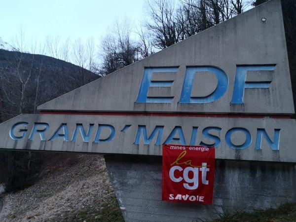 La plus grande usine hydro-électrique de France à l'arrêt. Rencontre avec Fabrice Coudour, délégué syndical CGT