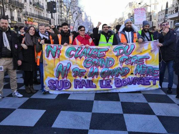 Témoignages. Au triage du Bourget, la grève appartient aux grévistes !
