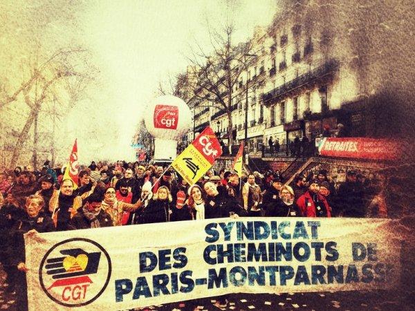 Gare Montparnasse : un des principaux animateurs de la grève réprimé