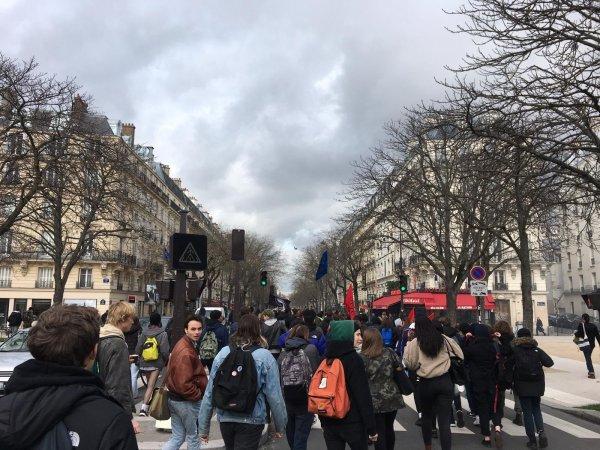 Lycéens contre l'autoritarisme : blocages et manifestation contre les E3C et le 49-3