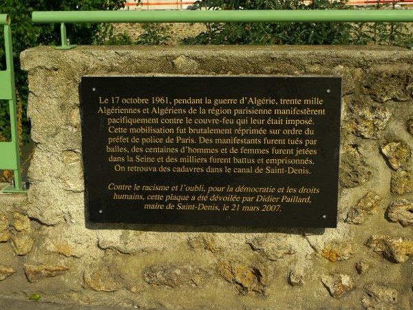 L'Île Saint Denis. « Bicot » : un sinistre rappel de la tradition coloniale française