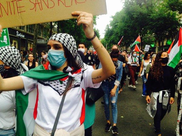 A Paris : manifester pour soutenir la résistance palestinienne !