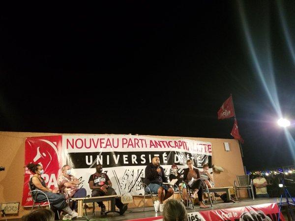Université d'été du NPA. Anasse Kazib : « Il nous faut un grand parti révolutionnaire ! »