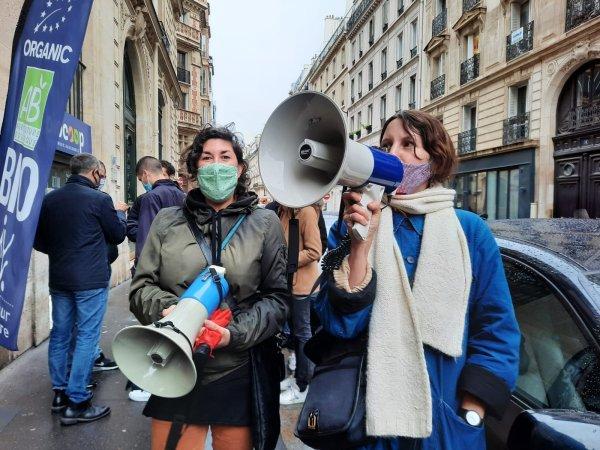 Du Pain et des Roses soutient les grévistes de Biocoop face à la répression
