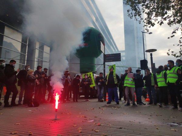 SNCF. A Lille, 600 cheminots manifestent contre l'ouverture à la concurrence dans les Hauts-de-France