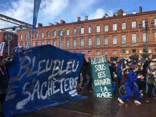 """Toulouse. Démolition du Bleu Bleu : """"sous les gravats, la rage !"""""""