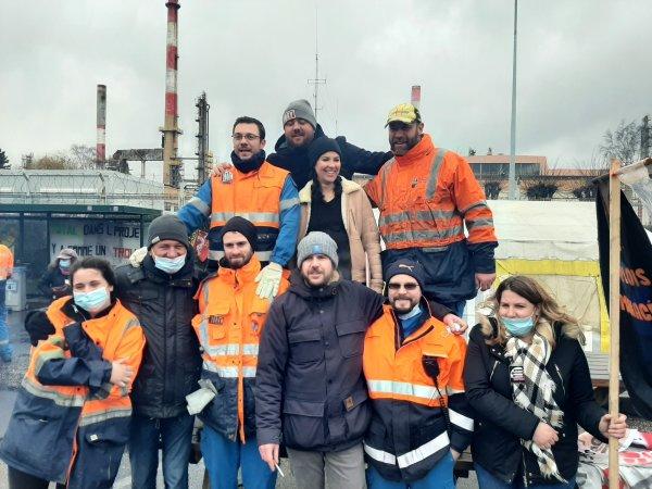 A Grandpuits, la culture renaît en solidarité avec les grévistes