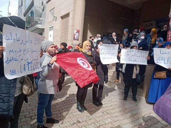 Tunisie : Latécoère licencie 356 ouvrières avec la complicité de la bureaucratie syndicale !