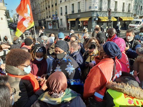 « Procès de la sous-traitance » : les Ibis Batignolles et leurs soutiens rassemblés à Paris