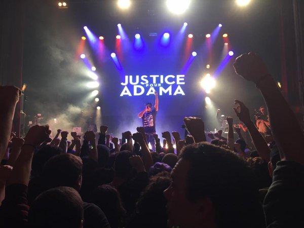 Justice pour Adama. A la Cigale, le combat de la famille Traoré atteint un nouveau sommet