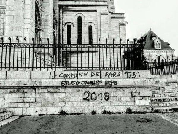 Montmartre. Quand des Gilets Jaunes ravivent le souvenir de la Commune de Paris
